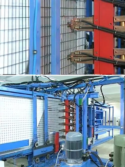 3D-polystyrene polyurethane panel production line